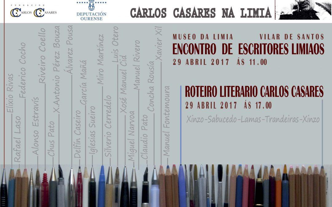 Foro-encontro de escritores limiaos homenaxea a figura de Carlos Casares