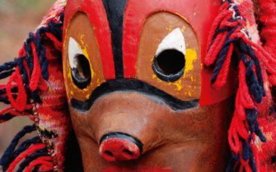 Chega ao Museo a exposición «Viaxe polo Mundo das Máscaras»